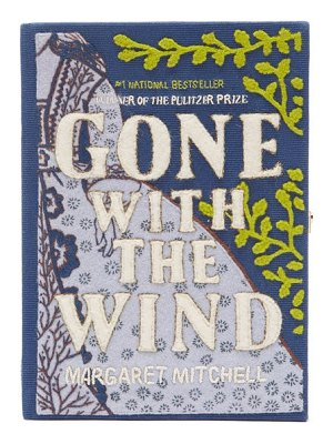 Olympia Le-Tan gone with the wind embroidered book clutch