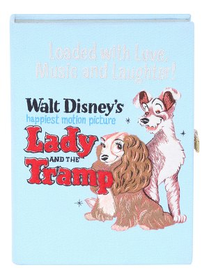 Olympia Le-Tan Lady and the Tramp Book Crossbody Clutch Bag
