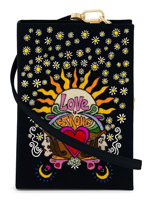 Olympia Le-Tan Love Is Strong Triya Book Clutch Bag