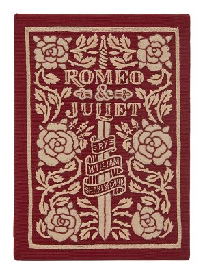 Olympia Le-Tan romeo and juliet embroidered book clutch