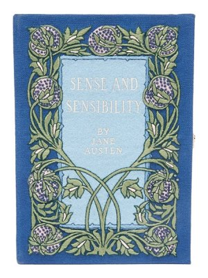Olympia Le-Tan sense and sensibility embroidered book clutch