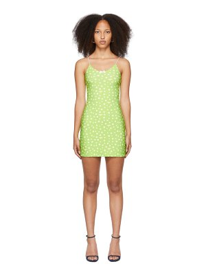 OMIGHTY ssense exclusive  daisy skinny dress