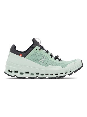On green cloudultra sneakers