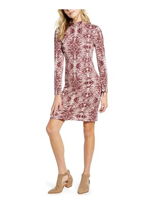 One Clothing long sleeve body-con dress