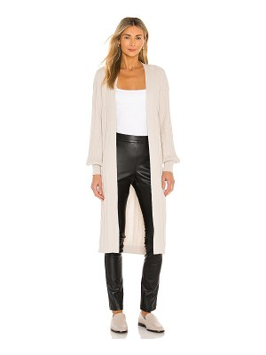 One Grey Day alessi duster cardigan