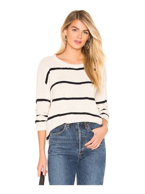 One Grey Day lennon stripe pullover