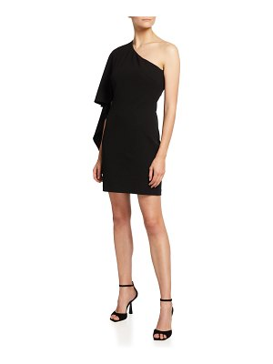 ONE33 SOCIAL One-Shoulder Tunic Dress