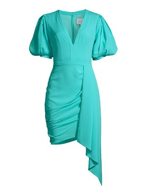 ONE33 SOCIAL stretch crepe cocktail dress