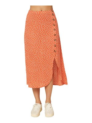 O'Neill dolina dot button skirt