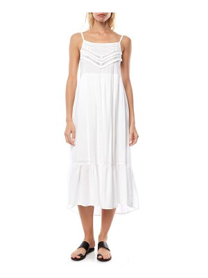 O'Neill lexi lace trim midi dress