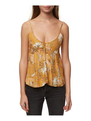O'Neill madison floral print woven tank