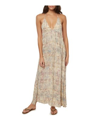 O'Neill silana halter maxi dress