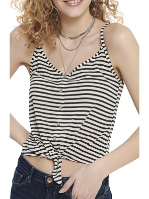 Only cannes tie front tank top