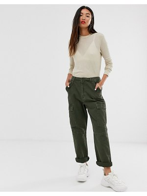 Only cargo utility pants-green