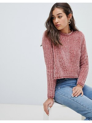 Only chenille sweater