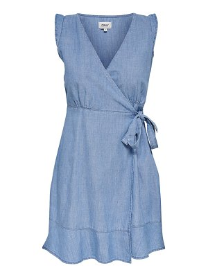 Only elodie chambray wrap dress