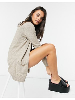 Only knitted cardigan in beige