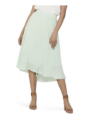 Only paradise pleat midi skirt