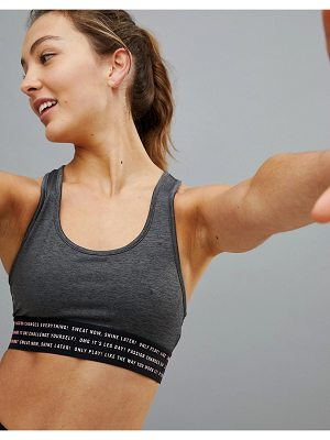 Only Play Logo Bralette With Taped Detail