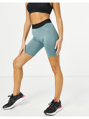 Only Play training legging shorts in goblin blue