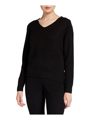Onzie Ballet Twist-Back Sweater