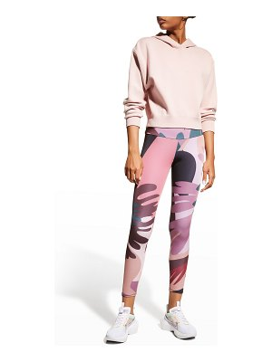 Onzie Cropped High-Rise Leggings