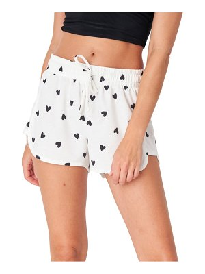 Onzie divine french terry lounge shorts