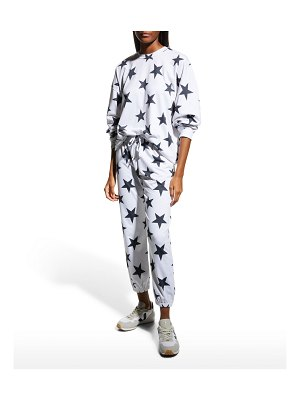 Onzie French Terry Star-Print Sweatpants