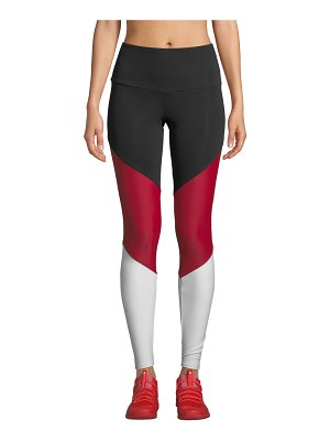 Onzie High-Rise Colorblock Track Leggings