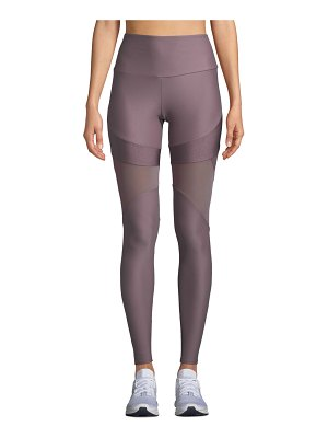 Onzie Royal Paneled Mesh High-Rise Leggings