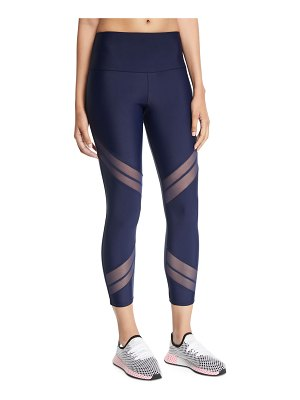 Onzie Sporty Mesh Cropped Performance Leggings