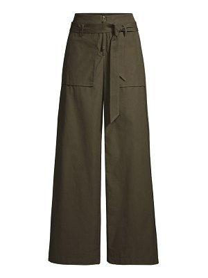 Opening Ceremony belted cotton cargo pants