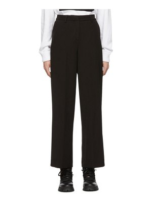 Opening Ceremony black side slit pants