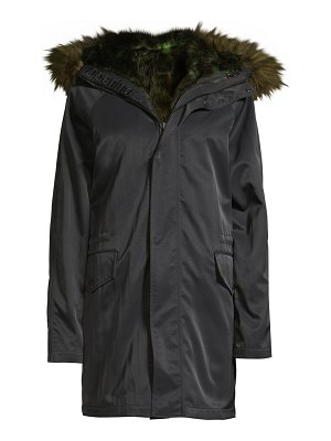 Opening Ceremony faux-fur lined parka