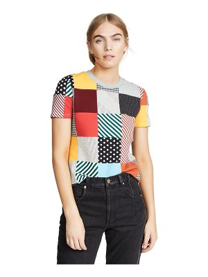 Opening Ceremony patchwork jersey t-shirt