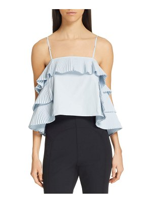 Opening Ceremony pleated top