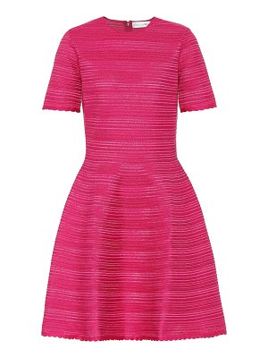Oscar de la Renta silk-blend knit dress