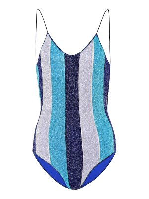 Oséree exclusive to mytheresa – lumière striped one-piece swimsuit