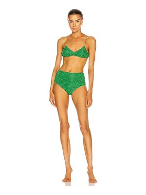 Oseree lumiere high waisted bikini set
