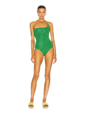 Oseree lumiere one shoulder maillot swimsuit