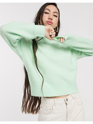 Other Stories &  high neck sweater in pastel green