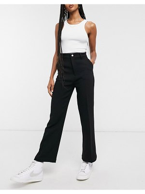 Other Stories &  kick flare pants in black
