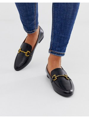 Other Stories &  leather loafers in black