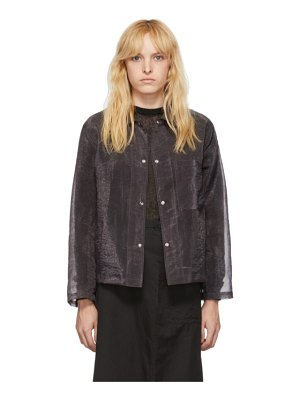 Our Legacy organza square jacket