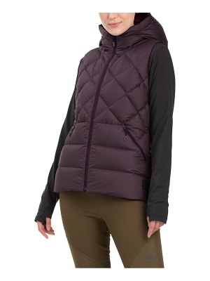 OUTDOOR RESEARCH coldfront 700 fill power hooded down vest