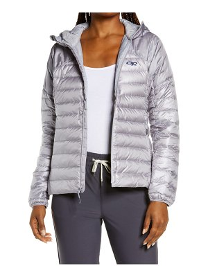 OUTDOOR RESEARCH helium 800 fill power down hooded jacket