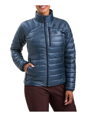 OUTDOOR RESEARCH helium 800 fill power water resistant down jacket