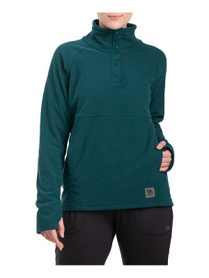 OUTDOOR RESEARCH trail mix snap pullover
