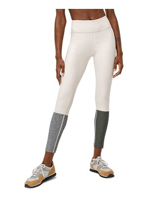 Outdoor Voices dipped ankle leggings