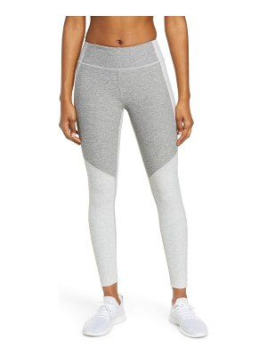 Outdoor Voices two-tone warmup crop leggings